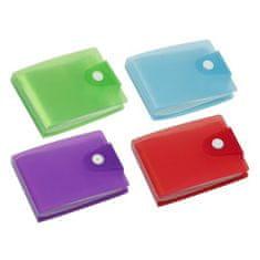 """VIQUEL Pouzdro na bankovní karty """"Propyglass"""", mix barev, 20 oddílů"""