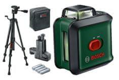 Bosch Universal Level 360 + TT 150 + MM03 linijski laser sa zelenim snopom, stalkom i držalom (0603663E01)