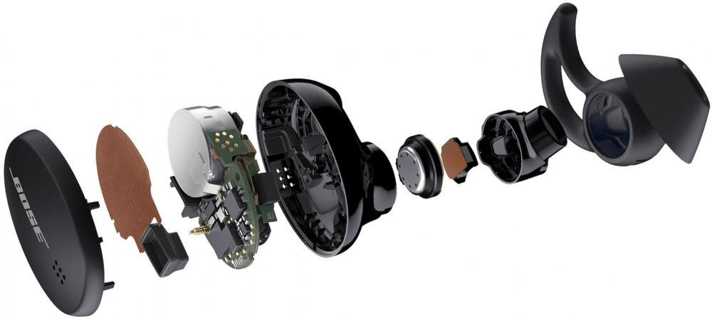 Bose Sport Earbuds, černá