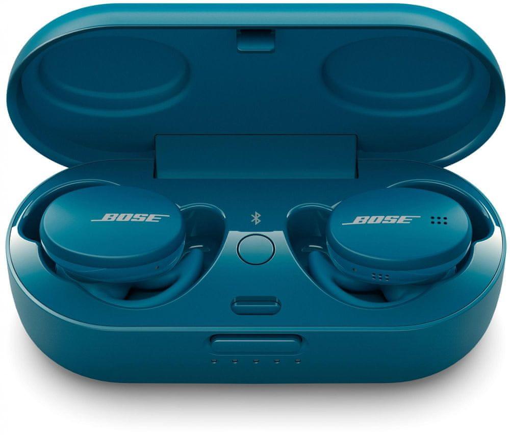 Bose Sport Earbuds, modrá