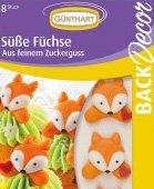 Cukrová dekorace na dort zvířátka - liška