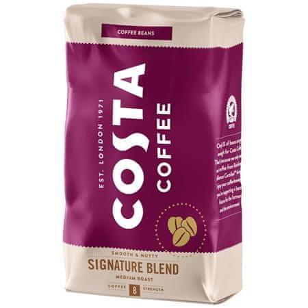 "COSTA COFFE Káva ""Signature Blend"", stredne pražená, zrnková, 1000 g"