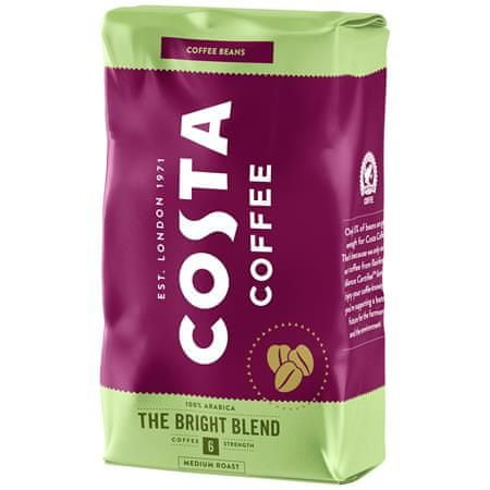 """COSTA COFFE Káva """"The Bright Blend"""", stredne pražená, zrnková, 1000 g"""