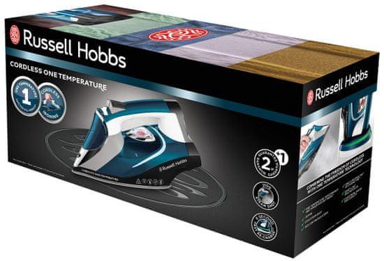 Russell Hobbs żelazko parowe Cordless One Temperature