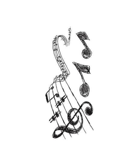 Crearreda WA S Music 59160 Hudební motiv