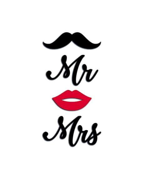 Crearreda FM S Mrs. & Mr 59511 Nápis Mrs a Mr