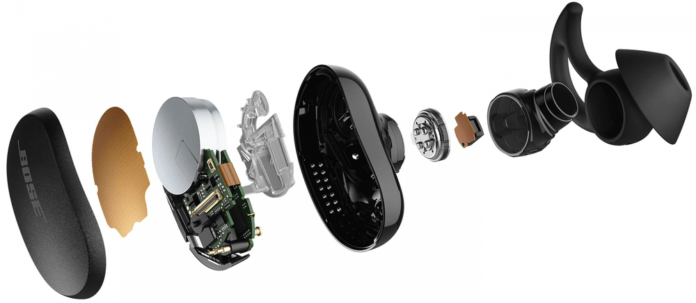Bose QuietComfort Earbuds, černá - rozbaleno