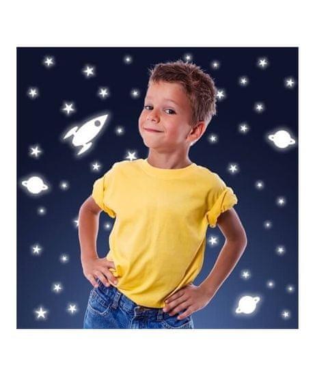 Crearreda WA S Rocket & Stars 77226 Svítící hvězdy a rakety