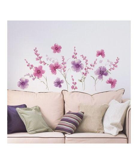 Crearreda WA XL Purple flowers 57717 Fialové květy