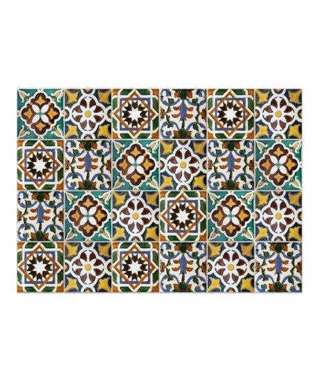 Crearreda KP Green Tiles 67210 Ornamentální dlaždičky