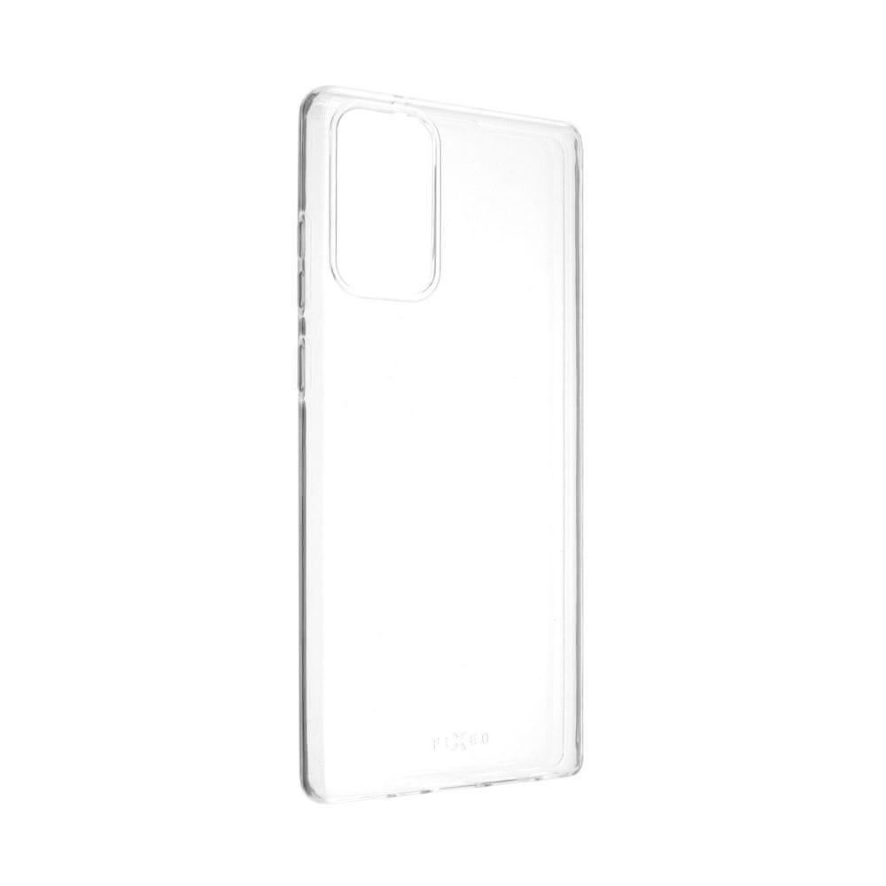 FIXED Ultratenké TPU gelové pouzdro Skin pro Samsung Galaxy Note 20, 0,6 mm, čiré (FIXTCS-575)