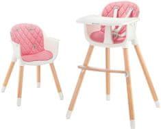 KinderKraft Sienna otroški stolček, roza