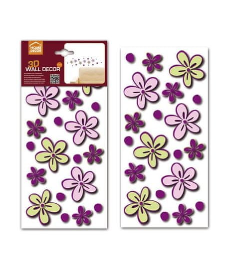 Crearreda FM S Little Flowers 59503 Fialová kvítka