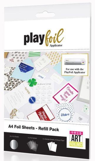 ControvARTsial A4 PlayFoil pro dodatna folija, srebrna