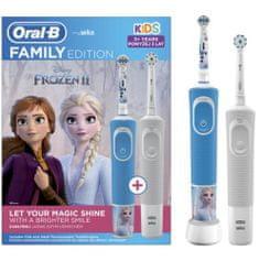 Oral-B zestaw rodzinny: Vitality + Vitality Kids Kraina Lodu 2