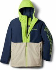 Columbia pánská lyžařská bunda Timberturner S béžová/modrá