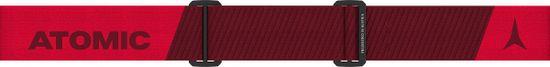 Atomic gogle narciarskie Savor Stereo, czerwone, różowe soczewki