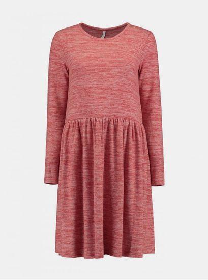 Haily´s červené žíhané šaty Haily´s