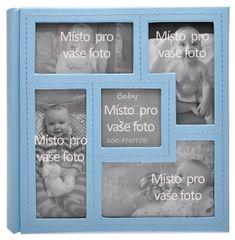 KPH Dětské fotoalbum Baby vision modré
