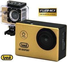 Trevi GO 2200 S2 aktivna športna kamera, Full HD, sivozlata