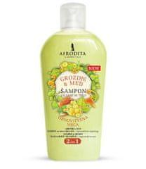 Kozmetika Afrodita šampon za lase in telo, grozdje & med, 1000 ml