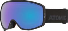 Atomic gogle narciarskie Count Photo, czarne, niebieskie soczewki