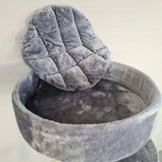 RHR Quality Macskafa Maine Coon Sleeper Light Grey PLUS