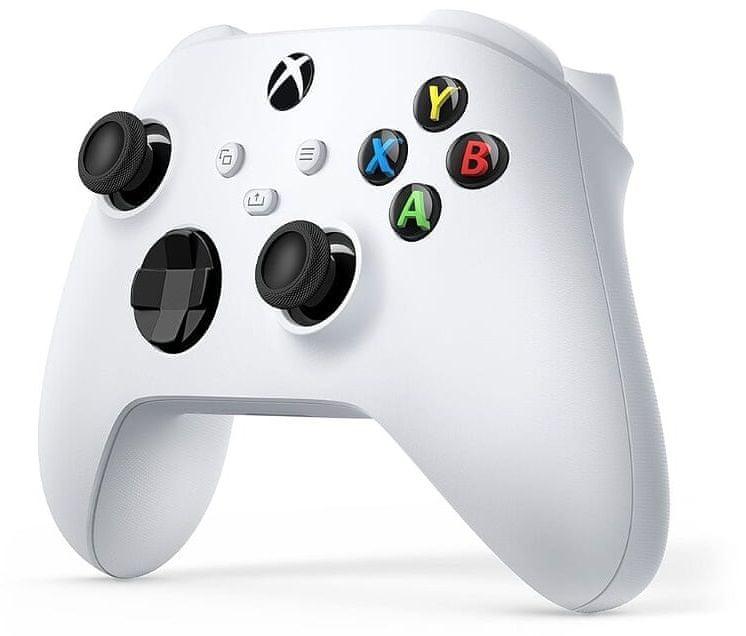 Microsoft Xbox Wireless Controller, bílá (QAS-00002) - rozbaleno