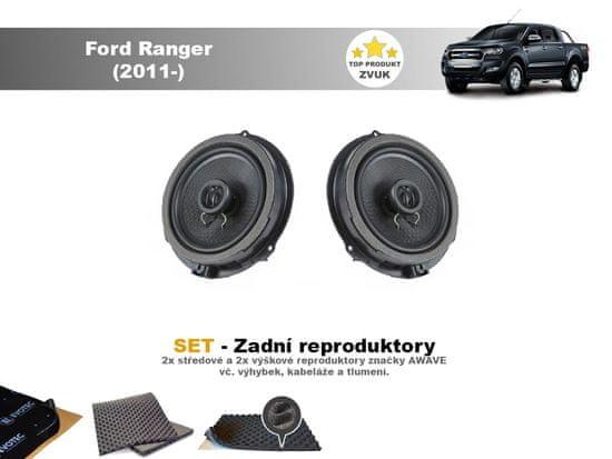 Awave SET - zadní reproduktory do Ford Ranger (2011-) - Awave AWF650