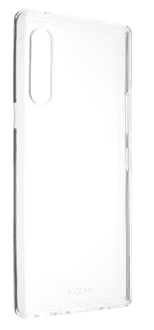 Fixed TPU gelové pouzdro pro LG Velvet, čiré FIXTCC-588