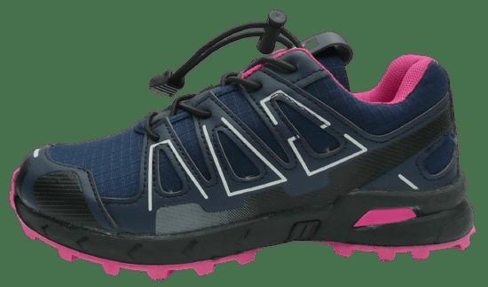 V+J otroški športni čevlji 684009, Navy/Fuxia