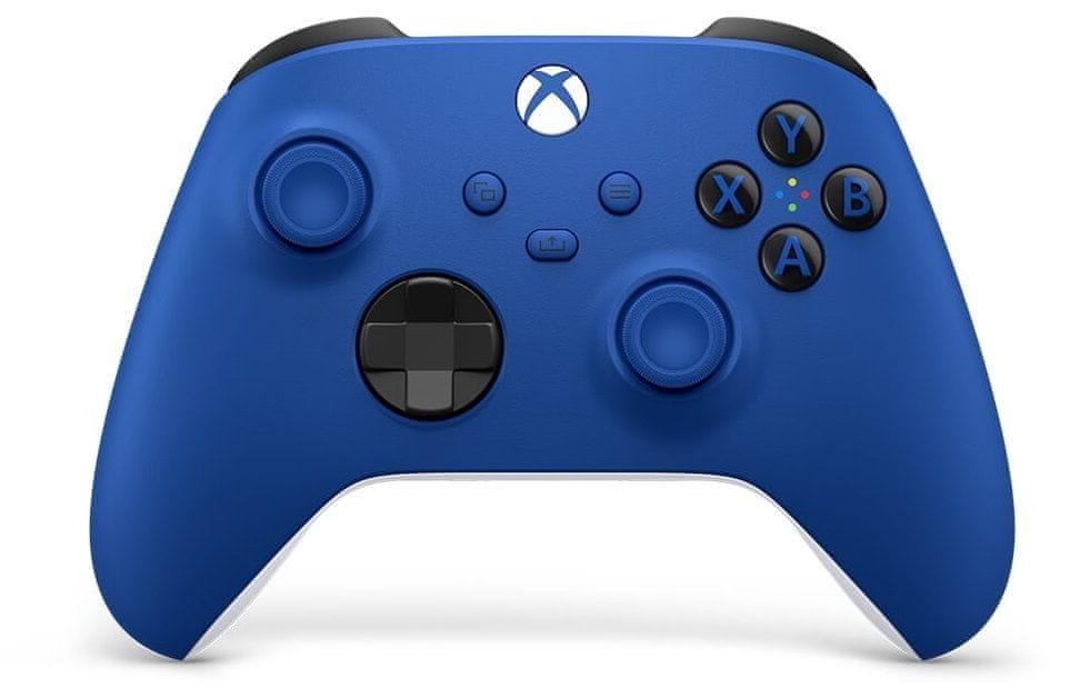 Microsoft Xbox Wireless Controller, modrá (QAU-00002)