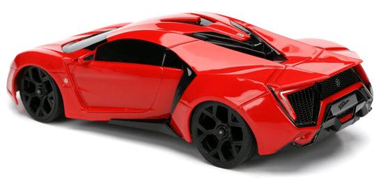 Hitri in drzni RC avtomobil Lykan Hypersport 1:24