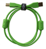UDG Gear Ultimate Audio Cable USB 2.0 A-B Green Straight 1m