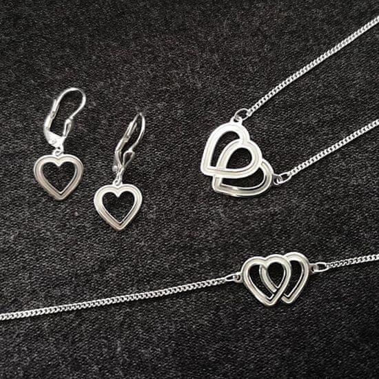 Praqia Čudovit komplet nakita Lovela N6061_KA6063_NA6064_RH (ogrlica, zapestnica, uhani)