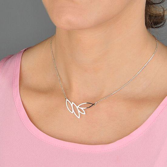 Praqia Srebrny naszyjnik Laurel N2101_RH srebro 925/1000