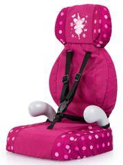 Bayer Design fotelik samochodowy dla lalki Deluxe bordowy