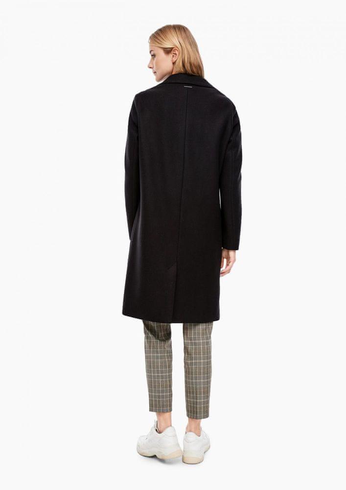 s.Oliver dámský kabát 120.12.009.16.151.2039659 40 černá