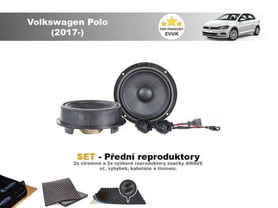Awave SET - přední reproduktory do VW Polo (2017-) - Awave AWV650C