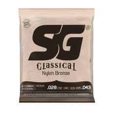 SG SGC Nylon 028 kytarové struny
