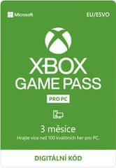 Microsoft Xbox Game Pass pro PC 3 měsíce (QHT-00003) - elektronicky