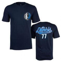 Dallas Mavericks Luka Dončić Digirain majica, moška, S, temno modra