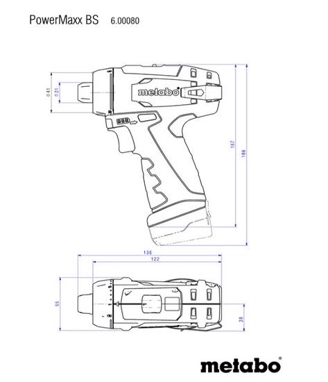 Metabo PowerMaxxBSBasic akumulatorski vrtalnik-vijačnik (600984000)