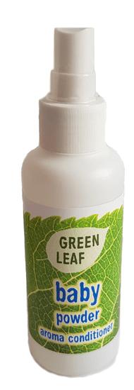 Green Leaf Bio AROMA kondicionér Green Leaf s vôňou detského púdru 100ml