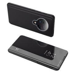 MG Clear View usnjeni ovitek za Xiaomi Redmi K30 Pro / Poco F2 Pro, črna