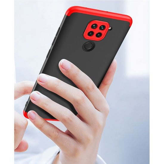 GKK 360 Full Body műanyag tok Xiaomi Redmi 10X 4G / Redmi Note 9, rózsaszín