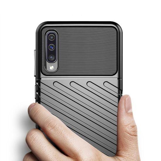 MG Thunder silikonski ovitek za Samsung Galaxy A50 / A50s / A30s, modra