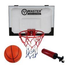Master basketbalový kôš s doskou 45 x 30 cm