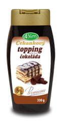 4Slim Čekankový topping 330g slaný karamel