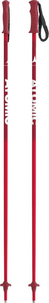 Atomic lyžařské hole Amt Jr Red 90 cm